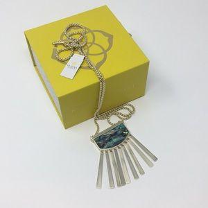 Kendra Scott Jewelry - Ellen Stone Necklace Kendra Scott Abalone Shell